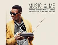 Music & Me x RappMetropolis x Crypta Mag - Cover