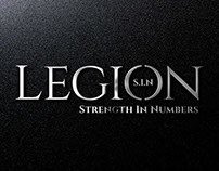 logo design for Legion Dumbbells
