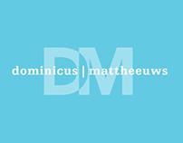 Logo en huisstijl Dominicus   Mattheeuws Orthodontisten