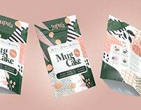 Lupaa Mug Cakes packaging (NY)