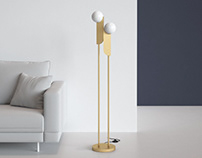 Free 3d model / Bower Floor Lamp by West Elm