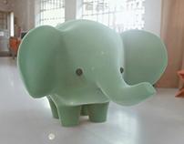 Elefante Bebé | 3D