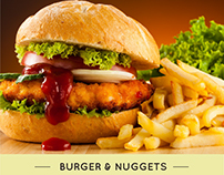 Healthy Farm Burger & Nuggets