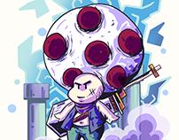 Toad (Nintendo) - Super Mario Bros characters