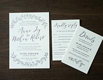 Anna + Nate Wedding Invitation Suite