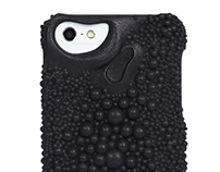 Stingray pattern for Fierce Forms phone cases