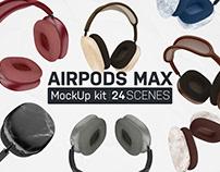 AirPods Max Mockup Kit