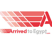 Arrived to Egypt WebSite Logo