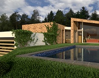 Visualisierung - Pavillon