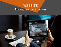 Сайт, интернет магазин мебели, web-design