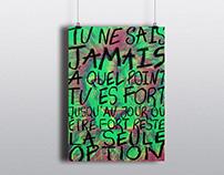 Afiche / Bob Marley