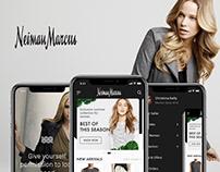 Neiman Marcus Ecomm redesign