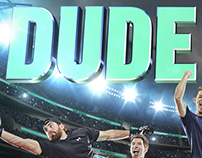 Dude Perfect Group Hero Illustration