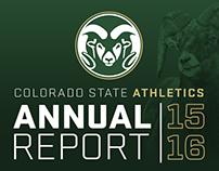 Colorado State Athletics Annual Report 2015-16