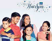 Parachute Advansed (+Kidzania) HairSpa Lookbook