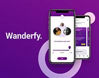 Wanderfy iOS App