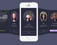 Sales Spotlight App Welcome Screens v2 | Vendini