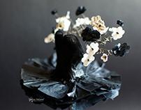 Miniature Ballerina Paper Dress