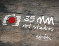 35mm Art Studios Logo Design