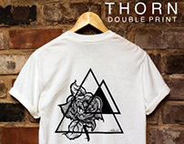 THORN | DOUBLE PRINT TSHIRT AND PRINT