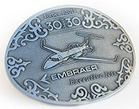 Belt Buckle: Embraer Executive Jets