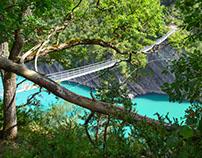 Lac de Monteynard-Avignonet France