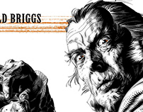 Reginald Briggs/ The Alienist: 2000AD .