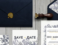 Ceci & Marco. Wedding Invitation