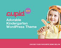 Kindergarten & ChildCare WordPress Theme