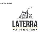 Design logo Laterra