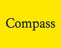 Compass | Custom Typeface