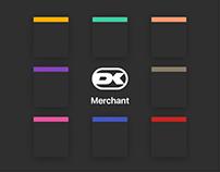Dankort Merchant App · UI