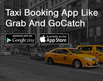 Taxi Booking App Like Grab and Gocatch
