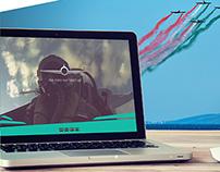 Kavala Airshow Webdesign