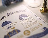 含情脈脈的婚柬   良卡手造