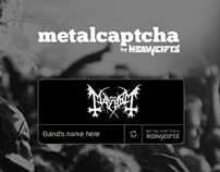 Metal Captcha