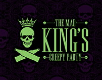 The MAD KING'S Creepy Party