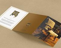 Elegant brochure design for Tarkhanom
