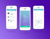 Meeting booking schedule app