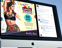 Facebook Kelly Key Oficial - Novo layout + posts