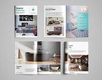 Interior Catalog Brochure Design