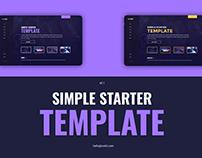 Simple Starter Template