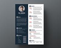 Simple Resume/CV - V4
