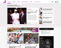 Diary of a Naija Girl web design
