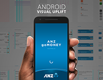 ANZ goMoney App — Android Visual Uplift