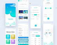 Tourex | UX/UI Design | Free UI Kit - XD & Sketch