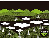ilustración / illustration para Pizzini