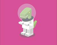 Space_Raptor // Digital Illustration