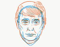 Trump = Putin Overprint