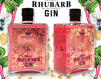 Gin packaging and branding illustrations